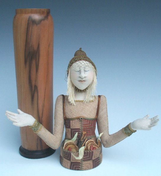 McKay Dogwood Figure Vessel copyright 2003 Akira Studios all rights reserved
